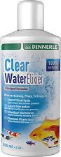 Dennerle Filtro de agua clara Elixir Líquido eliminar olores y toxinas 500ml