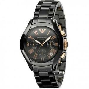 Emporio Armani AR1411 Ceramica Women Classic Chronograph Watch