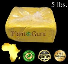 5 lbs Raw African Shea Butter YELLOW 100% Pure Unrefined Organic Natural Bulk