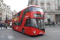 New bus for London - Borismaster LT408 6x4 Quality Bus Photo