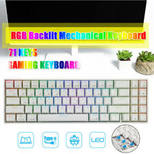 RK71 Wireless/USB Dual Mode Keypad RGB Backlight Mechanical Gaming Keyboard