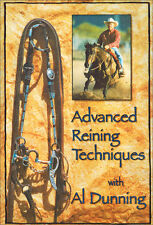 Advanced Reining Techniques with Al Dunning DVD Brand New!