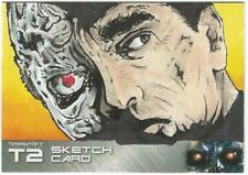 Terminator 2 Judgment Day Sketch Card drawn by Mike Hannan
