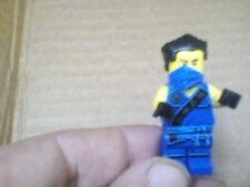 Lego Mini Figure Blue Ninja with Black Bandana