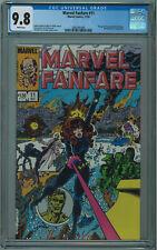 MARVEL FANFARE #11 CGC 9.8 BEST CGC COPY PEREZ COVER WHITE PGS 1983 006