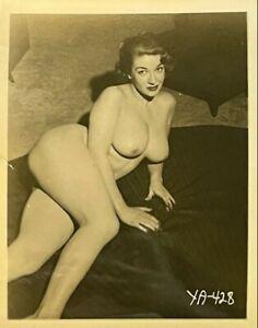 Vintage Original Silver Gelatin Photo Diane Kirby Perfect Tits Nipples Risque