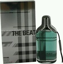 BURBERRY THE BEAT for Men Cologne 3.3 oz 3.4 edt  Brand NEW in sealed BOX perfum