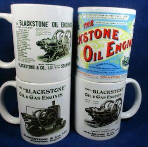 Blackstone Stationary Engine Mugs Ideal for Workshop Rallies Caravan