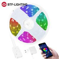 Luz LED WS2811 5m Modo Música Del Controlador Bluetooth Configurado RGB Color