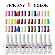 Choose Any 1 Colour 15ml Soak Off Gel Nail Polish UV LED Varnish Gelpolish Shiny