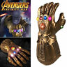 Avengers Infinity War Infinity Gauntlet LED Light Thanos Gloves Cosplay UK 2019