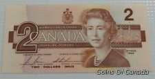 1986 Bank Of Canada $2 Replacement Banknote - BC-55cA - Gem Mint #coinsofcanada