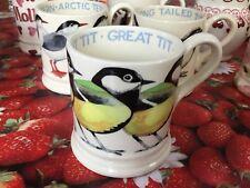Emma Bridgewater Great Tit 0.5pt Mug New Best Discontinued