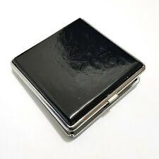 Cigarette Case Leatherette Metal Cigarettes Box Box Case Storage Case