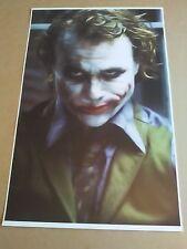 The Joker 11x17 Art Print / Poster, The Joker From Batman, DC Comics Superhero