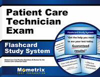 Patient Care Technician Exam Flashcard Study System
