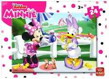 Childrens 24 Piece Disney Junior Jigsaw Puzzle Minnie Mouse & Daisy Duck 05248B