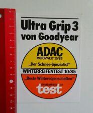 Aufkleber/Sticker: Goodyear Ultra Grip 3 - ADAC Motorwelt 1985 (110716164)