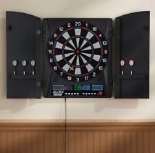 Fat Cat ElectronX Electronic Soft Tip Dartboard Tournament Game Cabinet DARTS