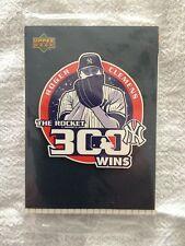 Roger Clemens 300 Wins Upper Deck Baseball Cards (Sealed) Yankee Stadium 5 Cards
