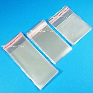 Adhäsionsverschluss Beutel Tüte 5x7cm bis 45x65cm Tüten selbstklebend Verpackung