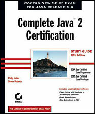 Complete Java�2 Certification Study Guide-ExLibrary