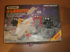 1984 VINTAGE MATCHBOX LINKITS SPACE WALKERS BUILDING TOY MIB