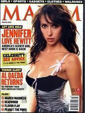Maxim Magazine March 2005 Jennifer Love Hewitt Grace Park Julie Berry
