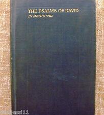 The Psalms of David in metre/ 1928/ Cambridge/ William Allan Neilson/ Washburn
