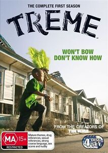 Treme : Season 1 Series One First (DVD, 2011, 4-Disc Set) AUSTRALIAN REGION