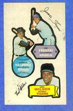1968 Topps Action Sticker - HARMON KILLEBREW / FREGOSI / WILSON  * Not Die-Cut