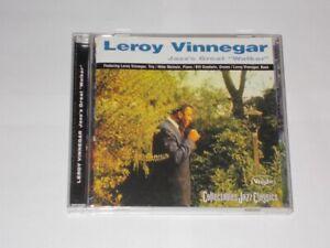 "Leroy Vinnegar Jazz's Great ""Walker"" 8 Track CD Album Collectables COL-CD-7158"
