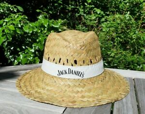 OFFICIAL JACK DANIELS COLLECTABLE SUMMER STRAW HAT