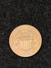 1864 2 CENT COIN UNC