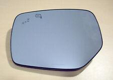 NEW Genuine SUBARU OEM Drivers Side BSI Power Mirror Glass Blind Spot Indicators