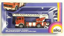 Siku 2819 Fire Engine Feuerwehrdrehleiter Made in Germany