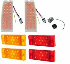 United Pacific LED Tail Light Insert & Side Marker Light Set 1970-77 Ford Bronco