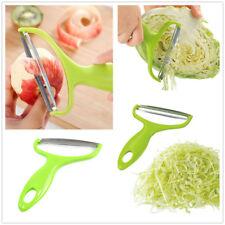 Vegetable Fruit Potato Stainless Steel Blade Peeler Cabbage Grater Cutter Slicer