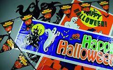 Décoration De Fête Halloween Le Pack Comprend Guirlande Fanions Porte & Vitrine