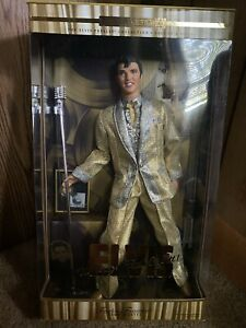 Elvis Presley The King Of Rock And Roll Collector Doll Mattel