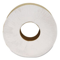 "Morcon Paper Morsoft Millennium Jumbo Bath Tissue 2-Ply White 9"" Dia. 12/Carton"