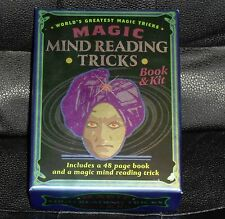 World's Greatest Magic Mind Reading Tricks Book and Kit-From Mud Puddle INC.