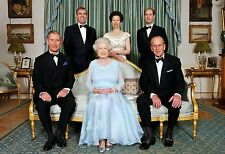 "HM QUEEN ELIZABETH II  & ROYAL FAMILY A4 NEW GLOSSY PHOTO PRINT 11.75""X8.25"" #13"