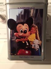 Nestle Toll House Walt Disney World 25th Anniversary Tin