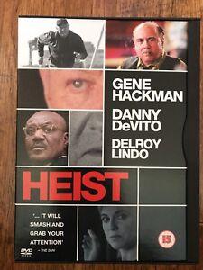 Heist DVD 2001 David Mamet Crime Thriller Movie Classic in Snapper Case