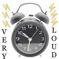 LOUDEST Alarm Clock THE BEAST Crazy Loud Alarm Clock Sleep Apnea DEEP SLEEPER