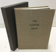 Limited Editions Club The Captive Mind Cselaw Milosz #972 of 1500 Signed