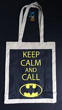 Dc Comics Keep Calm & Anruf Batman-Logo Leinentasche von Primark