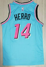 Limited Rare New NWT Rookie Tyler Herro Men's Jersey Miami BLUE Swingman # 14