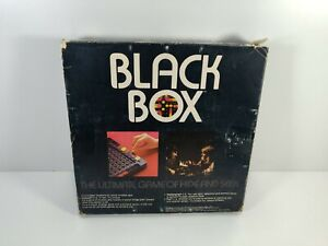 Black Box Board Game Parker Brothers 1978 Complete